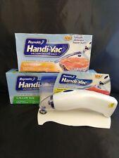 Reynolds Handi-Vac Vacumm Sealer Starter Kit + Extra Freezer Bags Quart & Gallon