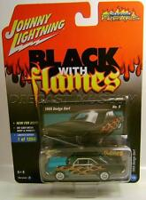 1969 '69 DODGE DART BLACK WITH FLAMES JOHNNY LIGHTNING DIECAST 2017