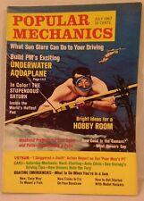 Rare 1967 POPULAR MECHANICS - CAMARO - BOATING - SATURN - AQUAPLANE - Cool Ads!