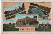 Dover Center, Ohio, Early Views of Schneider's Tourist Camp