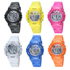 OHSEN Children Girls Boys G Style Date Shock Digit Light Quartz Wrist Watch Gift
