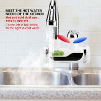 Schneller Warmwasserbereiter Durchlauferhitzer Heizung Wasserhahn Temp Anzeige