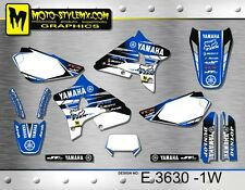 Yamaha WR 200 1992 up to 1999 graphics decals kit Moto StyleMX
