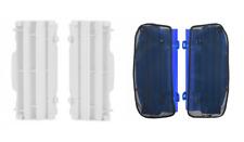 New Yamaha YZ 125 250 05-18 Radiator Rad Louvres Plastics & Mesh Covers White