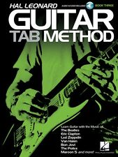 Hal Leonard Guitar Tab Method Book 3 Guitar Tab Method Book and Audio 000126952