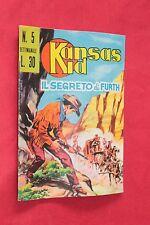 fumetto KANSAS KID EDITORIALE CORNO numero 5