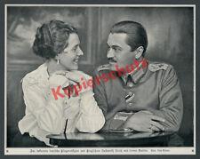 Fliegeroffizier Hellmuth Hirth Ehefrau Käte Funck Uniform Pilot Luftwaffe 1917
