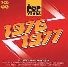 THE POP YEARS - 1976-1977 - 2 CDs NEU - Leo Sayer T.Rex Showaddywaddy Boston