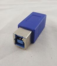 1x USB 3.0 B Female to Micro B Male Plug Converter Adapter Connector High Speed