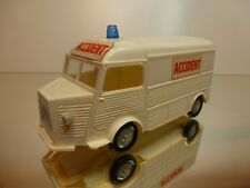MINIALUXE TUB CITROEN H 1200 - AMBULANCE ACCIDENT - 1:32 - VERY GOOD IN BOX