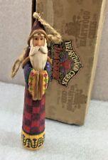 "Jim Shore Santa Claus Christmas Ornament 6"" w/Box 2004"