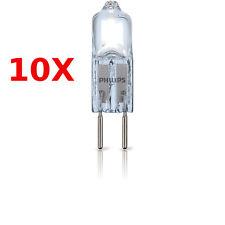 10 x Philips Halogen Halogenlampen Stiftsockellampe GY6.35  35 W Watt 35W 12V