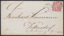 Ndp Mi No. 4 Ef Seal Letter With K1 Gotha - Dittersdorf, T+T 172