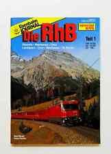 Die RhB Teil 1 - Disentis - Reichenau - Chur, St. Moritz - EJ-Special 6/95