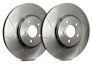 SP Performance Rear Rotors for 2008 GALANT 3.8L Engine | Slotted T30-457-P571