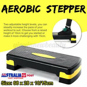 Aerobic Stepper Cardio Fitness Home Gym Exercise Step Block Boar GU