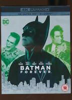 EBOND Batman Forever 4K ULTRA +HD BLU-RAY D251010