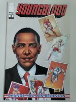 YOUNGBLOOD #8 (2009) IMAGE COMICS ROB LIEFELD PRESIDENT BARACK OBAMA COVER