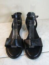 BOC by Born Concepts Black Ankle Strap Back In Sandal Shoes Women's Size 8