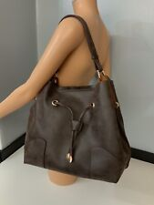 Chloe Brown Leather Shoulder Bag Handbag Immaculate