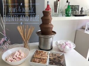 Chocolate Fountain Hire Various Sizes