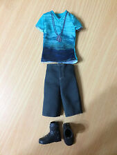 2013 Barbie Fashionistas Ryan Ken Doll Outfit Clothes Top Shorts Shoes Lot