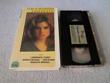 THE DAUGHTER EMANUELLE - (VHS) - LAWRENCE CASEY / SARAH CRYSTAL
