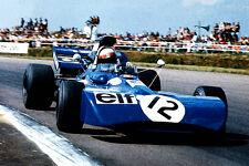 Jackie Stewart-Tyrrell 003 1971 Art Print Reduced postage for uk Orders !!