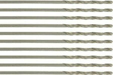 New Pack of 10 HSS Wire Gauge Twist Drill Bits #78 For Metal Working & Drilling
