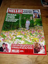 HELLO MAGAZINE 476 20 Sept 1997 DIANA PRINCESS OF WALES RESTS IN PEACE @ ALTHORP