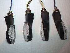4X LED indicador Mini Cateye Negro KTM 540 SXC 600 Enduro Rallye 990 SUPERDUKE