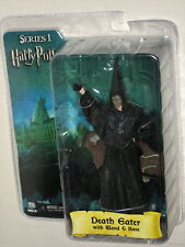 Harry Potter NECA Series 1 Death Eater with Wand and Base Figure No Torch