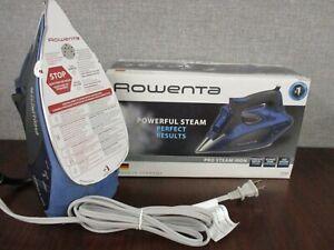 NEW Rowenta Pro Steam Stainless Steel Iron 1750W DW5192U1 Auto Off /Anti Calcium
