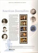 #812 42c American Journalists #4248-#4252 USPS Commemorative Stamp Panel