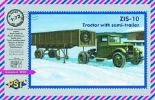 PST 72063 Zis-10. ciagnik z naczepa 1:72