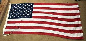 """United States of America Flag 100% Cotton  25"""" x 54"""" by HARRISON"""