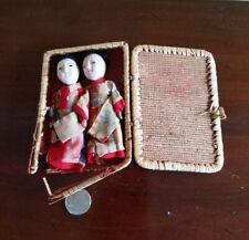 Miniature Vintage Japanese Ichimatsu Gofun Dolls