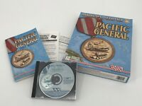 Pacific General PC Game 1997 Windows 95 CD Rom WWII Battle Strategy Instructions