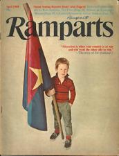 RAMPARTS MAGAZINE April 1969 - SUSAN SONTAG & CUBA, ANGOLA, FOUNDATIONS & POLICY
