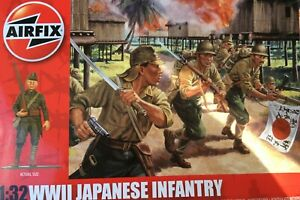 AIRFIX WW2 JAPANESE INFANTRY BRAND NEW BOXED 1/32 SCALE