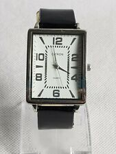 Beautiful Citron Rectangular Tank Style Men's Quartz Watch Working
