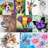 DIY 5D Diamond Embroidery Painting Flower Animal Cross Stitch Home Decor Decal