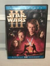 STAR WARS III Revenge of the  Sith Full Screen DVD Excellent Condition!