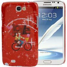 Estuche duro para Samsung n7100 galaxy note 2 día de san valentín/Love rojo Estuche móvil