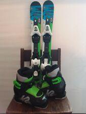 Kids Ski bundle: Volkl skis 70 and K2 boots 204 and Salomon C5 bindings