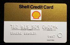Shell Credit Card exp 1987 ♡Free Shipping♡cc878♡