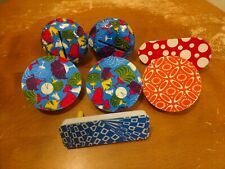 Vintage Tin Noise makers New Years Theme Plus some Usa lot of 7
