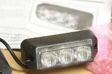 NEUF : Feu de penetration a LED - ECCO 3736C Clear white IP67  12/24VDC - 3 LED