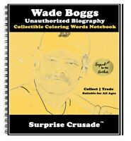 Wade Boggs Baseball Card Sports Trading Card Notebook AUTHOR AUTOGRAPH SET