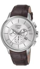 Esprit Collection Herrenuhr Crius Chrono Brown EL101961F03 Analog Chronograph Le